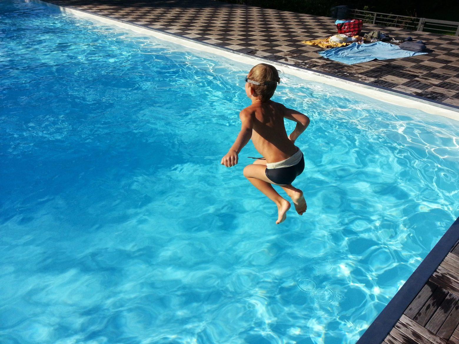 La piscine d'Astrid dans les Landes